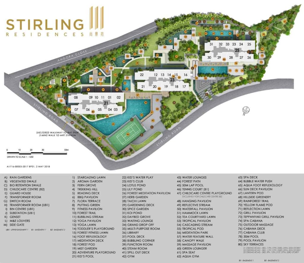 stirling-residences-condo-site-plan-singapore