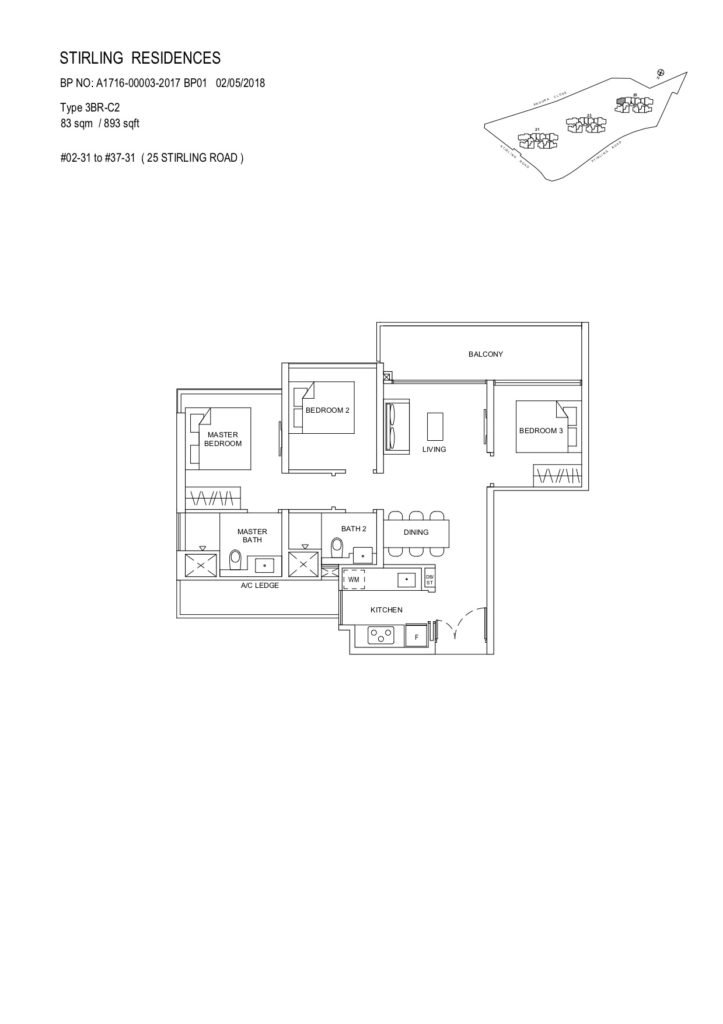 stirling-residences-3-bedroom-c2-723x1024